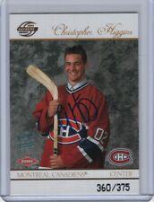 2003-04 Pacific Supreme Rookie Autograph #123 Chris Higgins RC 360/375