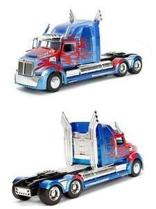 1/24 Jada Optimus Prime Western Stars 5700 EX Transformers Livraison Domicile