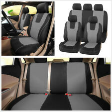 9pcs Standard Car Front + Rear Seat Protect Cover Universal Breathable Washable