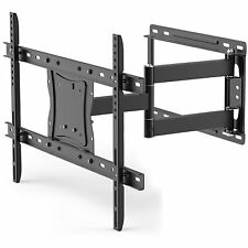 "Full Motion TV Wall Mount for 19""-84"" TVs Tilt and Swivel Arm and HDMI Cable"