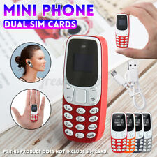 Mini Small bluetooth GSM Mobile Phone Dual SIM Card MP3 MP4 Cellphone