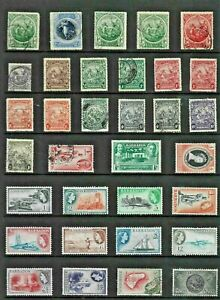 BARBADOS Stamp COLLECTION George to QEII MINT USED Ref:QX74a