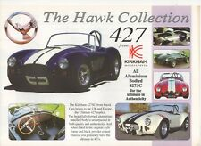 Hawk Kirkham 427SC kit car (AC Cobra replica, made in GB)_2001 Prospekt Brochure