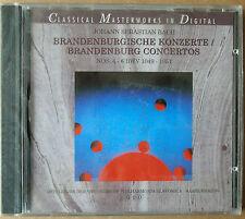 Bach - Brandenburgische Konzerte Nr. 4-6 - CD neu & OVP