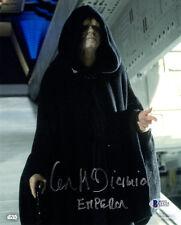 IAN MCDIARMID SIGNED AUTOGRAPHED 8x10 PHOTO + EMPEROR STAR WARS BECKETT BAS
