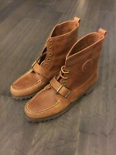 Polo Ralph Lauren Ranger Country Boots Cookie Vntg 12 Sportsman 88 92 New NOS