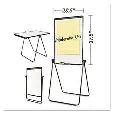 MasterVision Folds-to-a-Table Melamine Easel - EA14000583MV
