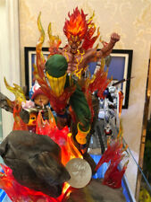 NARUTO JZ Might Guy PVC Figure Model Painted Statue Dragon Studio Led Light Gift