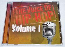 THE VOICE OF HIP HOP VOL. 1-CHRISTIAN/GOSPEL RAP-AUTOGRAPHED-FUNDRAISER-FEAT: