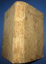 1586 Torquato Tasso, Apologia, Risposta, DUE CINQUECENTINE RARA LEGATURA FERRARA