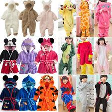 infantil Kigurumi Animal Traje una pieza Albornoz Pijama Cosplay Traje Pijama