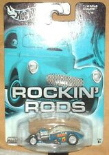 Hot Wheels 2004 Rockin' Rods Series 1/4 Mile Coupe blue/white,RR's ex.card
