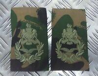 Genuine British Army Camo MASTER AIRCREW Rank Slides / Epaulette NEW