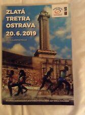 2019 Zlatá Tretra Golden Spike Ostrava Programme: IAAF: Athletics/Track & Field