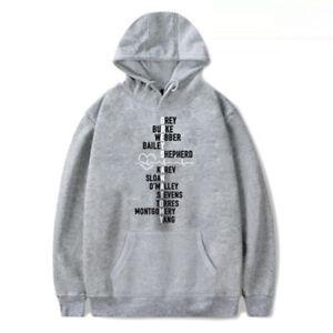 Grey's Anatomy Print Pullover Hoodie Unisex Lovers Hooded Sweatshirt T-Shirt