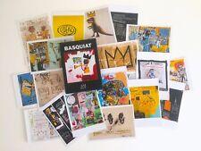 JEAN MICHEL BASQUIAT ESTATE RARE POP ART POSTCARDS BOXED SET OF 25 - NEW MINT
