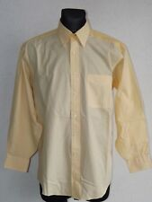 Tommy Hilfiger mens cotton long sleeve small striped shirt size 15 1/2  32-33 L