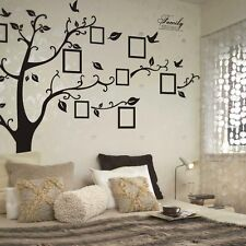 Wall Sticker Family Tree Photo Picture Frame Decal Room Home Art Decor Removable