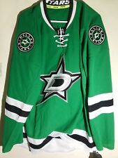 Reebok Authentic NHL Jersey Dallas Stars Team Green sz 52