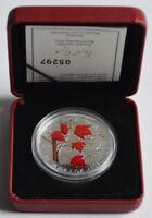 Kanada 5 Dollars 2004 Maple Leaf Herbst Koloriert 1 Oz Silber