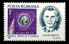 Kosmonaut Jurij Gagarin. 1W. Rumänien 1971