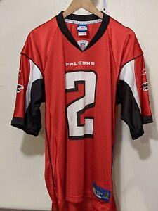 Atlanta Falcons #2 Matt Ryan Mens Medium Reebok NFL On Field Football Jersey