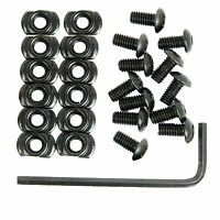 12pcs/Pack M-lok Screw&Nut Kit with Wrench For M-LOK Rail base Sections mount