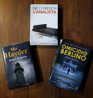 PASSIONE THRILLER - tre libri - Nicci French  -  Joseph Kanon  -  Mo Hayder