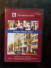 Campus Reform Now! The Leadership Institute hosted by Mike Pence DVD FREE SHIP