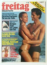 Erotik Magazin ★ freitag ★ 8 vom 13.2.1976 ~ Barbara Bouchet / John Wayne u.a.!
