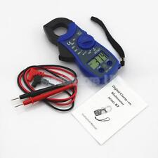 Electric LCD Digital Clamp Multimeter Tester Meter AC DC Volt Ammeter Blue