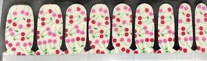 Color Nail Polish Strips 18ct. Cherries. READ DESCRIPTION BELOW