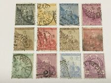 old stamps  CAPE OF GOOD HOPE   x 12