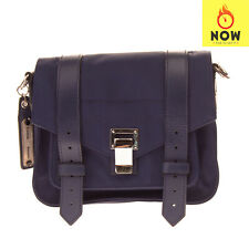 RRP€930 PROENZA SCHOULER Crossbody Bag HANDCRAFTED Leather Details Made in Italy
