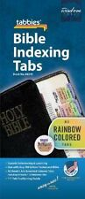 Tabbies Rainbow Colored Noah's Ark 80 Bible Index Tabs 58349 Old/New Testament