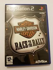 Harley-Davidson Motor Cycles:Race to the Rally ps2 pal España completo