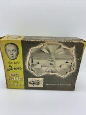 Vintage Majestic Goren Card Shuffler & Canasta Tray with box