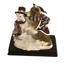 Texas A&M University Slavic Treasures Mascot & Snowman Clothic Accents Figurine