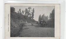 ROAD IN ADDIS ABABA: Ethiopia postcard (C26857)