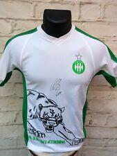Maillot ASSE AS SAINT ETIENNE verts signed KURT ZOUMA foot ultras signé