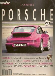 AUTO PASSION HS7 L'ANNEE PORSCHE N°1 PORSCHE 911 964 CARRERA RS 968 356 CARRERA