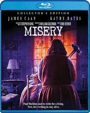 MISERY New Sealed Blu-ray Collector's Edition Kathy Bates James Caan