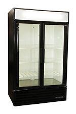 True Gdm-43 Refrigerator 2-Door Swing Merchandiser Cooler Free Shipping