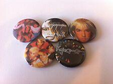 5 Kajagoogoo button badges 25mm Limahl Too Shy Duran Duran Big Apple Islands