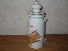 APILCO *NEW* ETE INDIEN Pot à Olives H.27 cm / INDIAN SUMMER