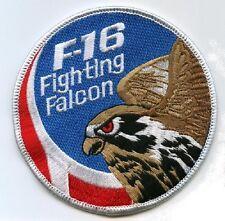 F-16 FIGHTING FALCON SWIRL PATCH DANISH AIR FORCE F-16