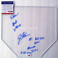 Very Rare JOE MAUER Signed Clear Base Auto w/ Inscriptions PSA/DNA COA Autograph
