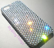 CLEAR Rhinestone Bling Back Case for iPhone 5 5S 5SE made w/ Swarovski Crystals