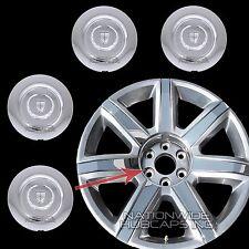 """2015 16 17 Cadillac Escalade 22"""" Chrome Wheel Center Rim Hub Caps Lug Cover Hubs"""
