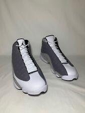 "Air Jordan 13 ""Atmosphere Grey"" Men's Size 10 ATMSPHRE GRY/BLK-WHT 414571 016"